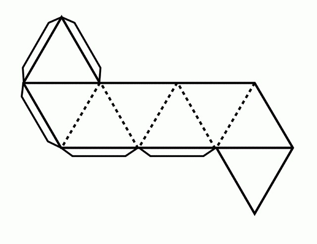 схема как сделать октаэдр