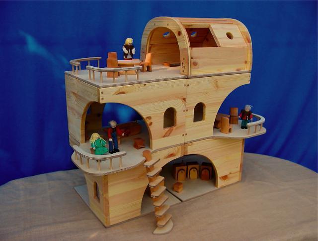 как сделать дом для куклы