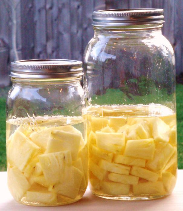 настойка ананасовая