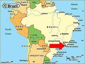 рио де жанейро бразилия карта