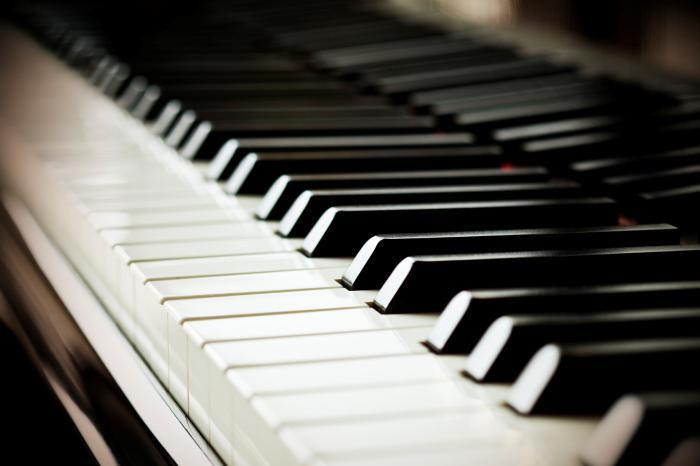 клавиши фото фортепиано
