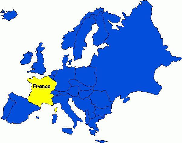 Франция где находится