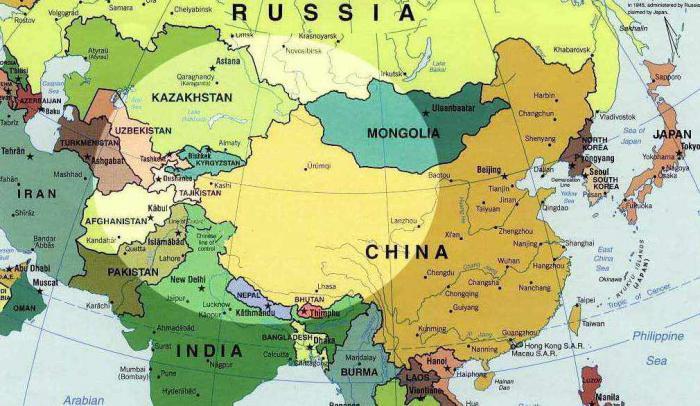 Страны центральной азии и их краткая