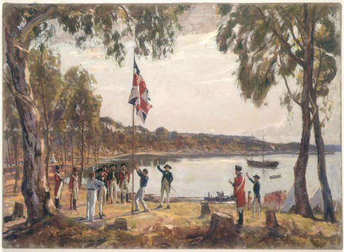 историко культурные районы австралии