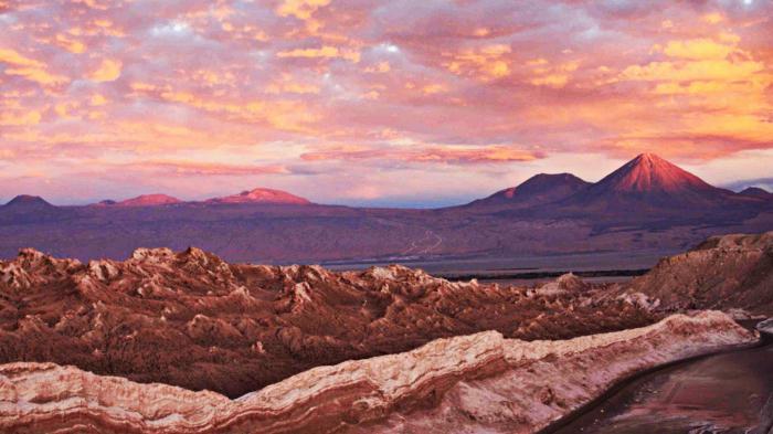 пустыня в южной америке