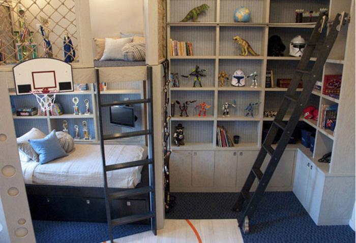 дизайны спален для подростков