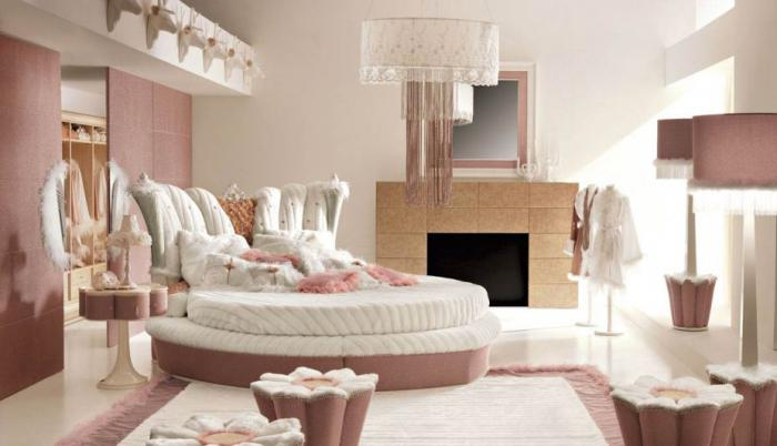 дизайны спален для девушек