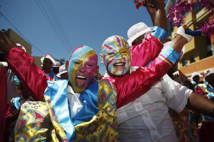 Сценарий нового года с африкой