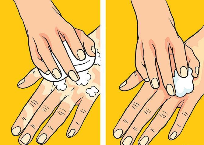 как правильно рисовать хной на руке