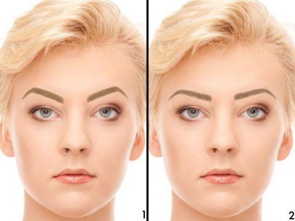 Правильная форма бровей для овальной формы лица: описание, техника и рекомендации
