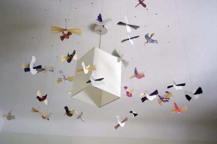 Объемная птица из бумаги своими руками