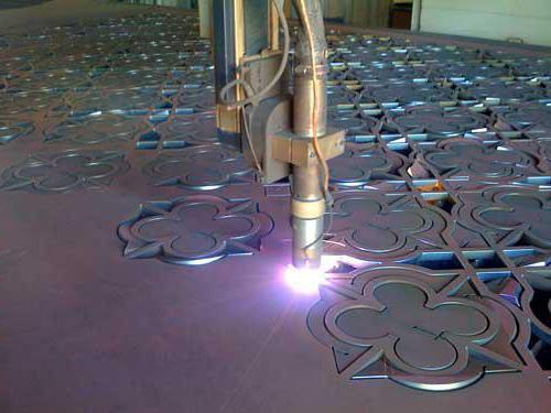 установка плазменной резки металла