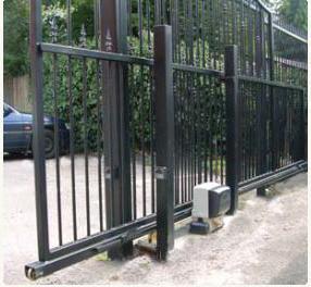 Схема откатных ворот своими руками с размерами