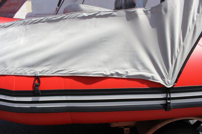 тент носовой для лодки пвх