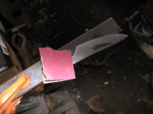 тесак нож