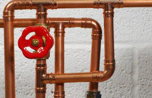 разводка труб водопровода