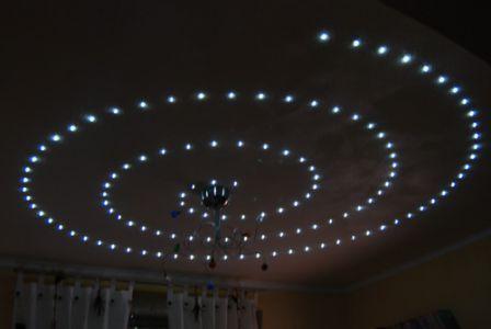 Светодиодные ленты на потолок своими руками - TurnPike