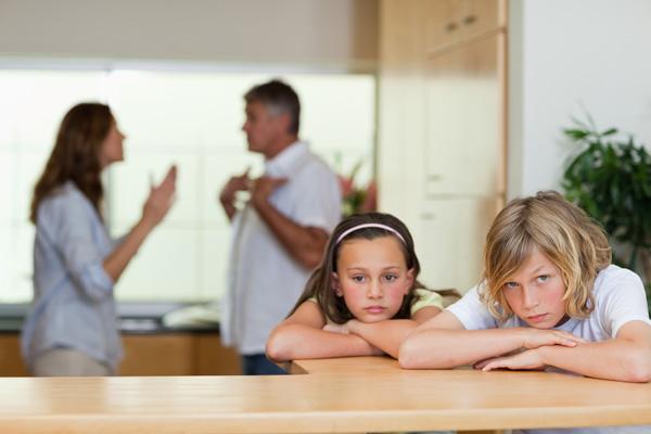 Родители скандалят
