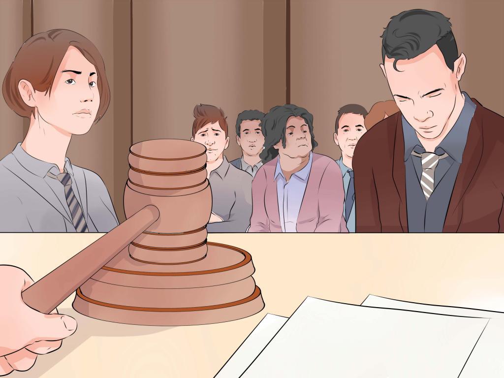 Защита в суде