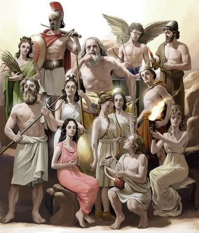 «Раса господ» Атлантиды как прообраз древнегреческих богов