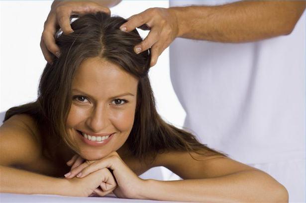 Ультразвуковое лечение волос бритвой