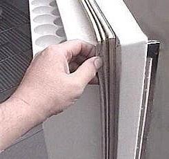 Замена резинки в холодильнике своими руками