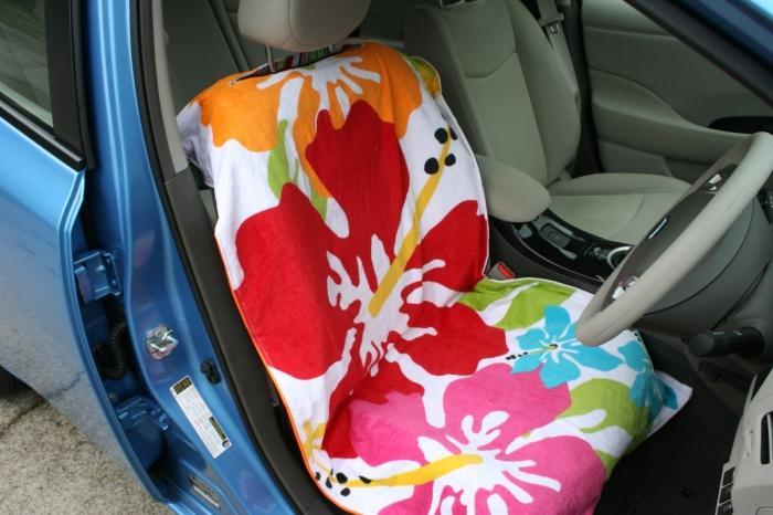 накидка на переднее сиденье автомобиля