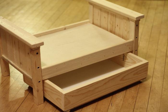 как сделать кроватку для куклы