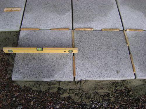 как сделать тротуарную плитку самому