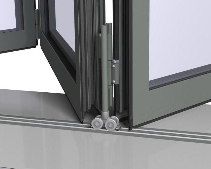 Раздвижные двери на роликах