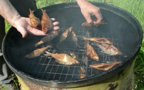 копчение рыбы в коптильне рецепты