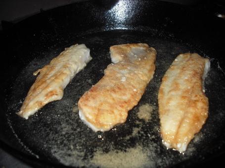 Как пожарить рыбное филе