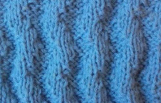 вязание спицами виды резинок