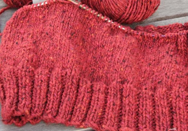 вязание спицами резинки