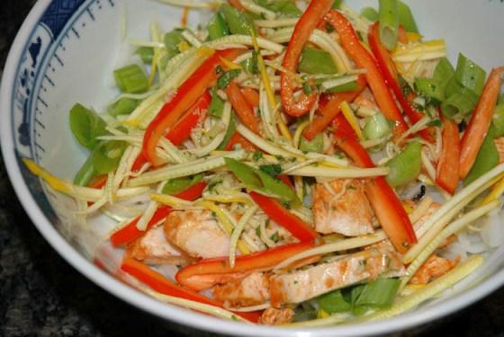 соус для теплого салата