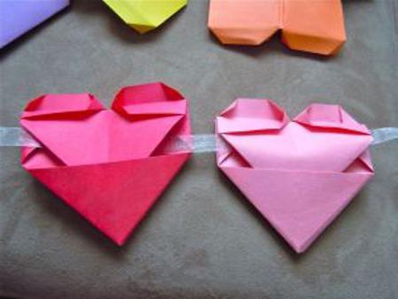 красивые валентинки из бумаги