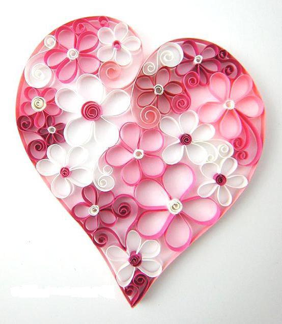 покупку открытки квиллинг сердце верхом