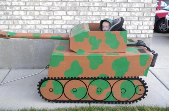 Сделать танк из подручных материалов своими руками