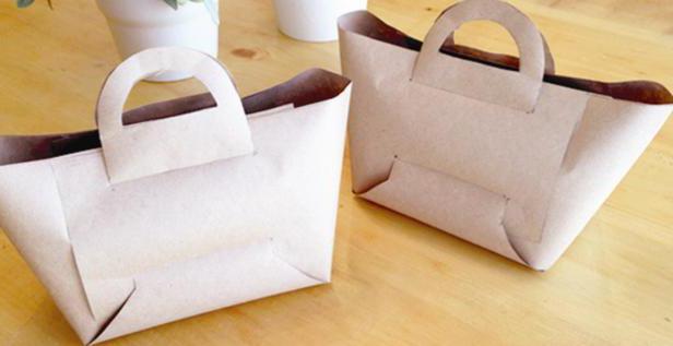 как сделать сумку из бумаги