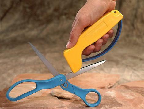 Как точить ножницы в домашних условиях