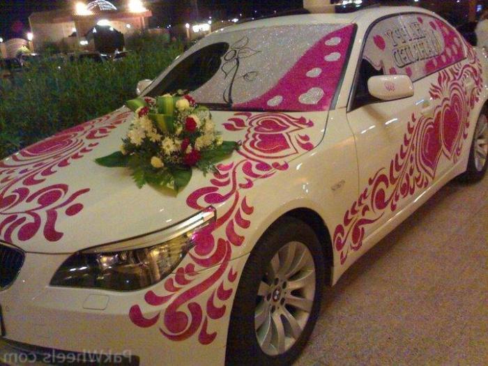 Свадебные машины фото 2013