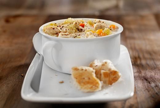 классический рецепт супа на курином бульоне