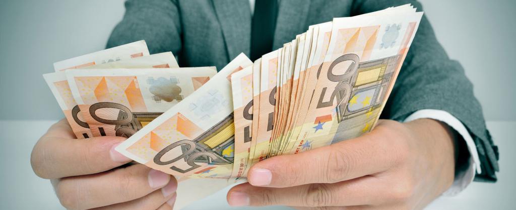 Пересчет обменных купюр