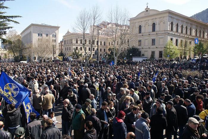 численность населения грузии