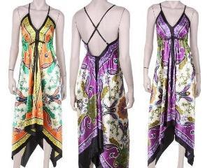 Выкройка летнего платья с резинкой на поясе фото 567