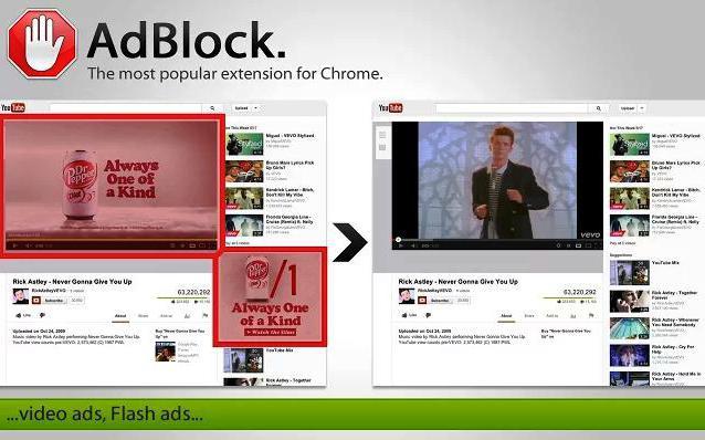 Блокировщик рекламы AdBlock