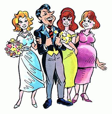 Полигамный мужчина — это — Что такое полигамная семья?