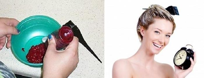 Как в домашних условиях обесцветить волосы перекисью
