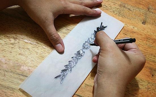 Как сделать тату в домашних условиях гелевой ручкой