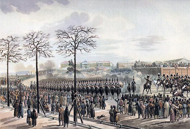Восстание на сенатской площади